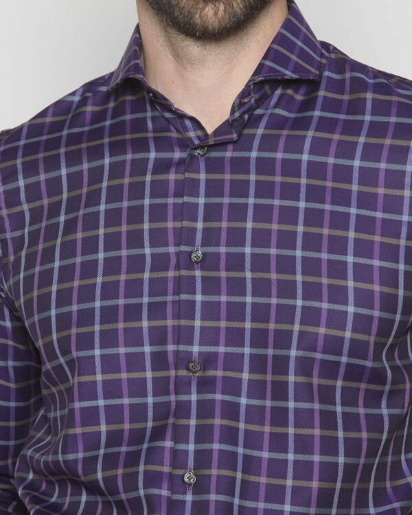 Camisa Thomas Mason Violeta